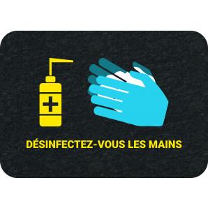PIG® Grippy® avec marquage : Désinfectez-vous les mains