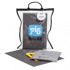 Kit anti-déversement transparentet compact PIG®