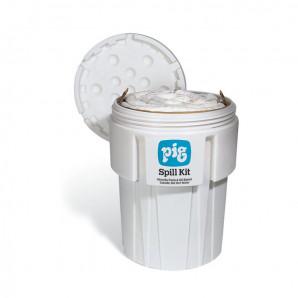 Kit anti-déversement PIG® ensurfût de 360 l – Oil-Only(pour l'huile - hydrophobe)