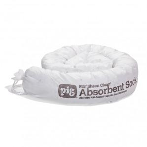 Boudins absorbants pour huile uniquement Sheen Clean PIG