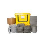 Kits pour déversements universels SW 1000 L - conteneur à roues avec ouverture en façade