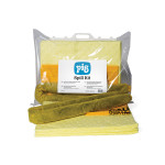 Kit pour déversements chimiques PIG® Essentials– sac à fermeture clipsée
