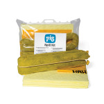 Kit pour déversements chimiques PIG® Essentials – sac à fermeture clipsée
