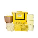Kits pour déversements de substances chimiques SW 1000 L - conteneur à roues avec ouverture en façade