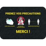 PIG® Grippy® avec marquage : Prenez vos précautions