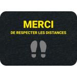 PIG® Grippy® avec marquage : Respect des distances