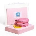 Kit d'absorbants chimiques PIG® 30 L dans un sac clipsable