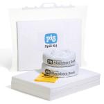 Kit d'absorbants hydrocarbures PIG® 30 L dans un sac clipsable