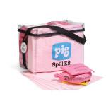 Kits anti-déversement PIG® HazMat à sac cubique transparent