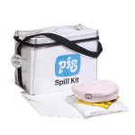 Kits anti-déversement -PIG® Oil-Only à sac cubique transparent
