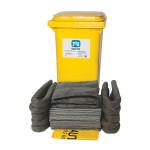 Kits pour déversements universels PIG® Essentials 120 L - conteneur à roues
