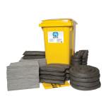 Kits pour déversements universels PIG® Essentials 360 L - conteneur à roues