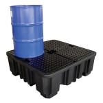 Palette pour 4 futs en  polyethylene sw Puisard a tres grande capacite