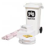 Kit en conteneurmobile PIG® - Oil-Only(pour l'huile - hydrophobe)